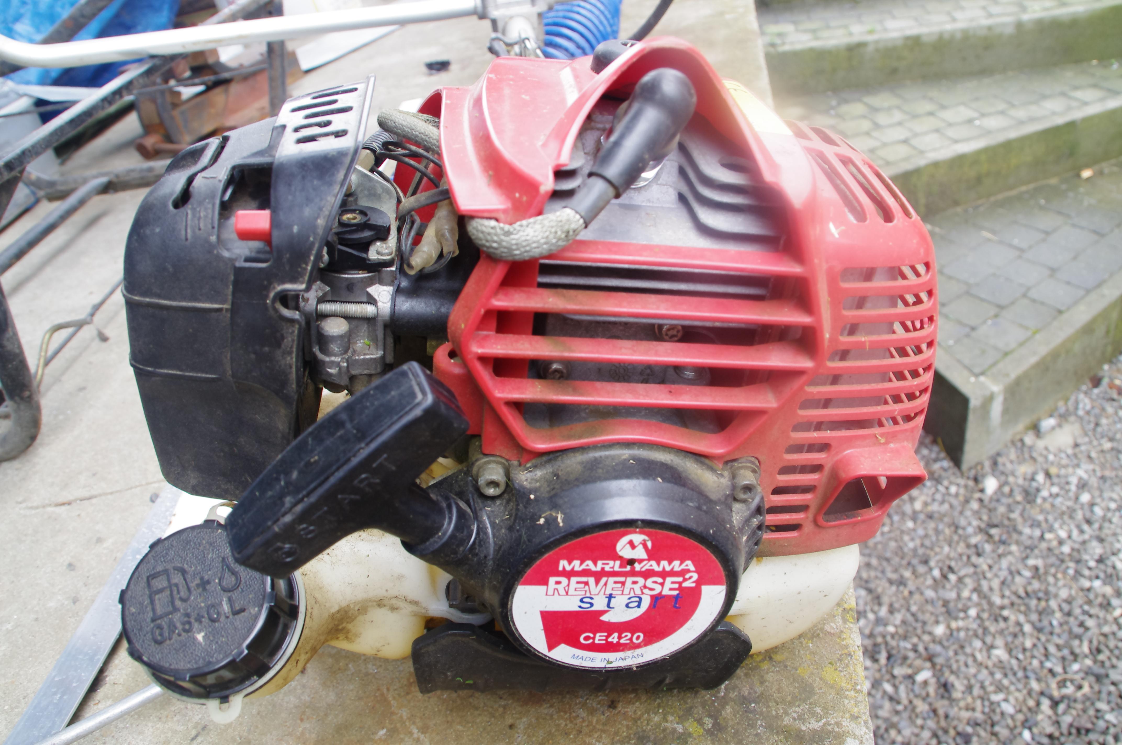 Réglage carburateur Débroussailleuse Maruyama CE420